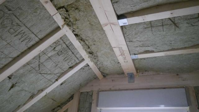 Übergang Dachschräge - Decke