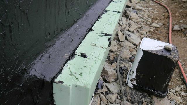 Dämmung Aussenseite Bodenplatte